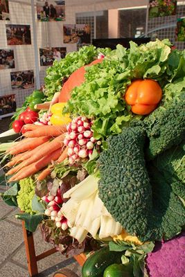 Banca de legumes