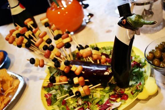 O grande diferencial nas mesas de petiscos são as formas que são apresentadas aos convidados