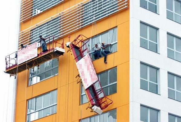 Os andaimes, independente do tipo, devem ser instalados de forma correta para evitar acidentes