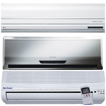 Aparelhos condicionadores de ar modelo Split