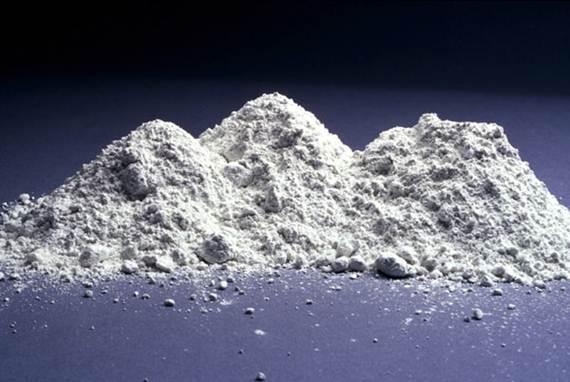Cimento em pó