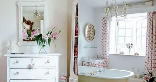 Exemplo de cortina para banheiro