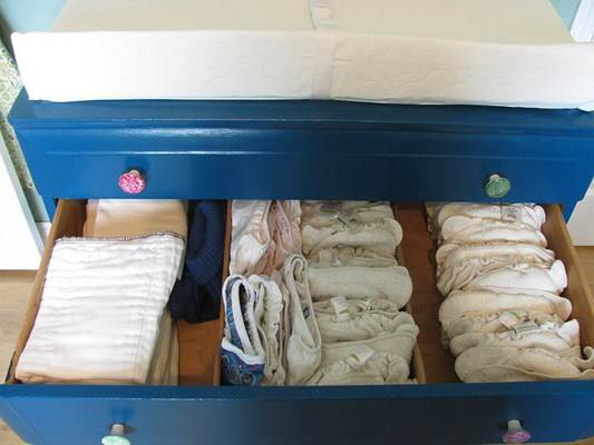 Fraldas de tecido