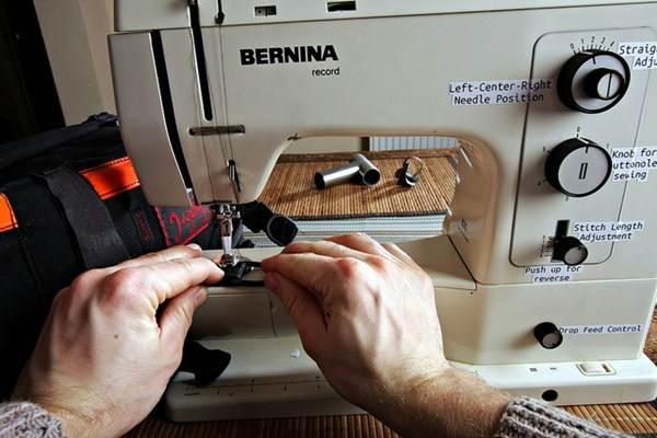 Máquina de costura tradicional