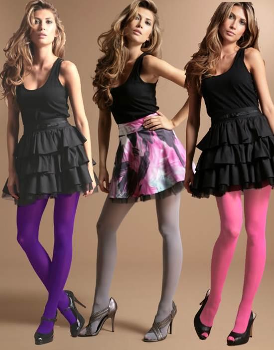 Dicas de como usar meia calça colorida