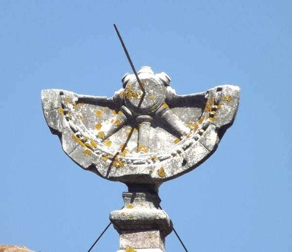 Relógio quadrante solar