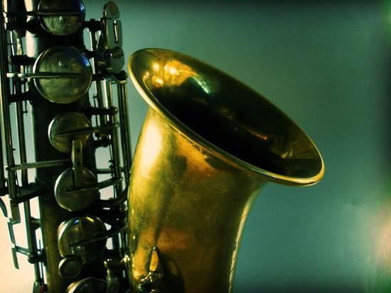 Parte do instrumento chamado Saxofone