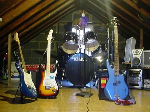 Instrumentos usados pelas bandas de música