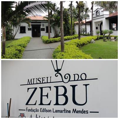 Entrada do Museu do Zebu no Parque Fernando Costa