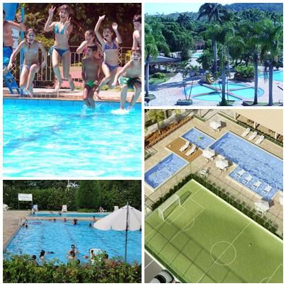 Os clubes são visitando durante todo o ano, mas em época de férias as crianças são o público alvo para as colônias de férias