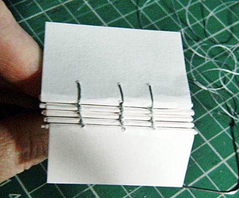 Encadernação artesanal