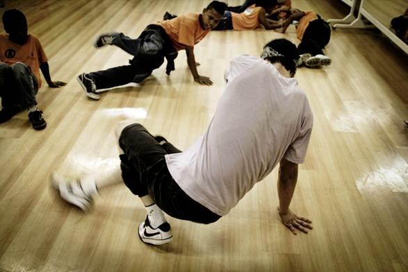 Oficina de dança Hip Hop