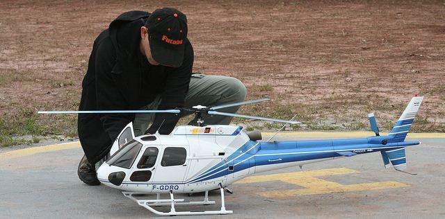 Exemplo de helicoptero, aeromodelismo