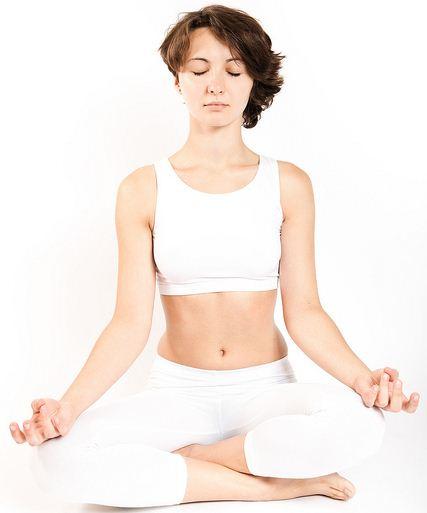 A Yoga utiliza várias posições para meditação, essa é clássica