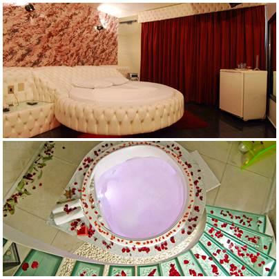 Os motéis realizam decorações personalizadas além dos artigos fixos