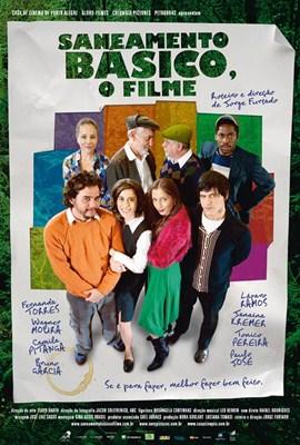 Cartaz de anúncio do filme Saneamento Básico