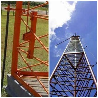 Torres autoportante modular triangular
