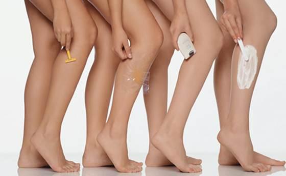 Existem vários tipos de depilação