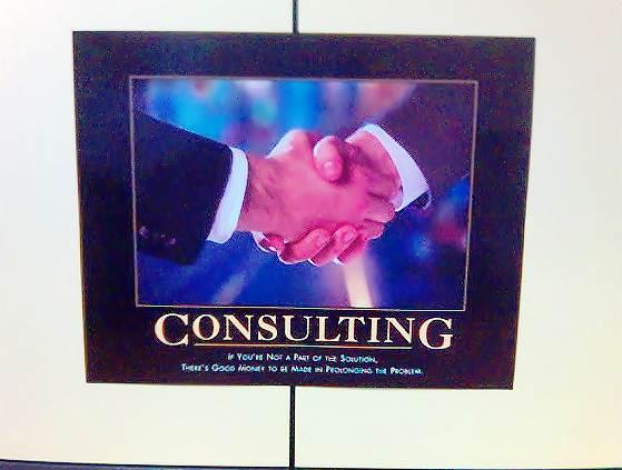 As consultoria são a maneira mais eficiente de descobrir as falhas dentro de uma empresa