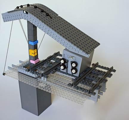 Maquete produzida por engenheiro