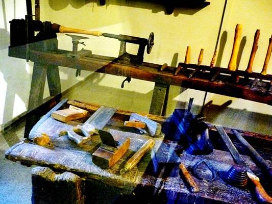 Ferramentas de um carpinteiro