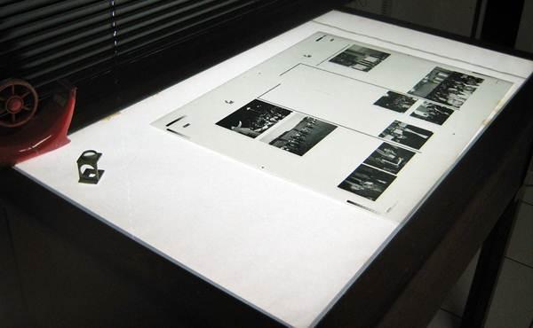 Fotolito usado para impressão
