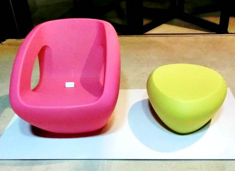 O designer também pode trabalhar em empresas de móveis, em suas coleções