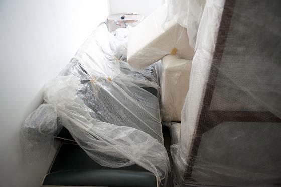 O plástico bolha é o material mais indicado na hora de embalar os imóveis e objetos pequenos