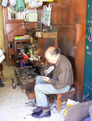 Sapateiro tradicional