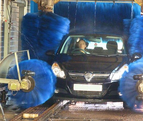 Sistema de lava-jato rápido