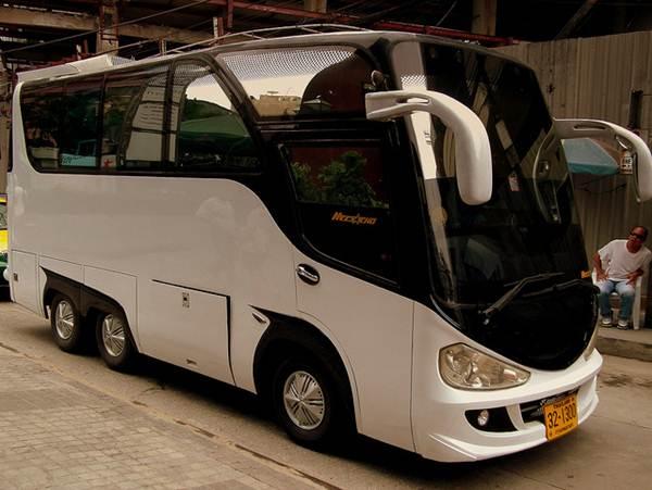 Os ônibus tipo executivo são utilizados por times esportivos para viagens
