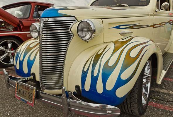 Tintura automotiva personalizada
