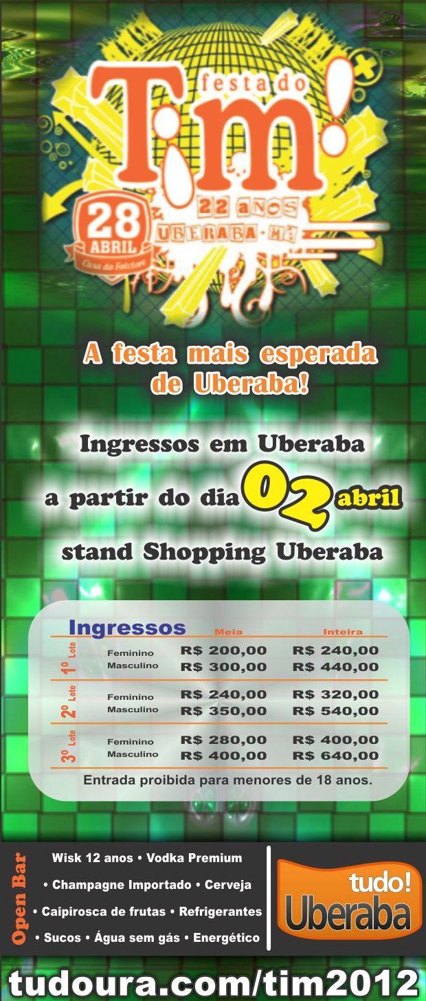 Festa Tim Uberaba 2012