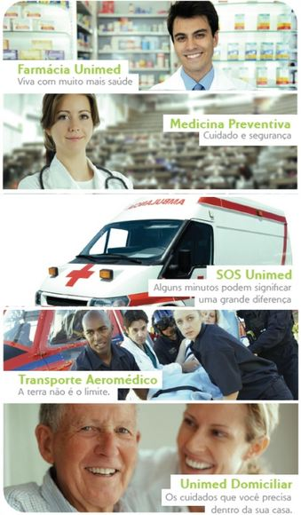 Serviços oferecidos pela Unimed Uberaba