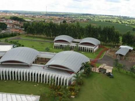 Visão aérea do Hospital Veterinária FAZU - Foto: Divulgação