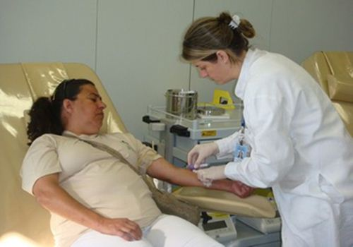 Doação de sangue - Hemocentro de Uberaba
