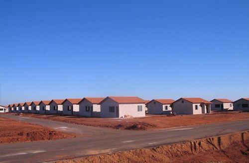 Casa do programa Minha Casa Minha Vida já entregues no bairro Francisco Angotti - Foto: Site da Prefeitura Municipal - Cohagra