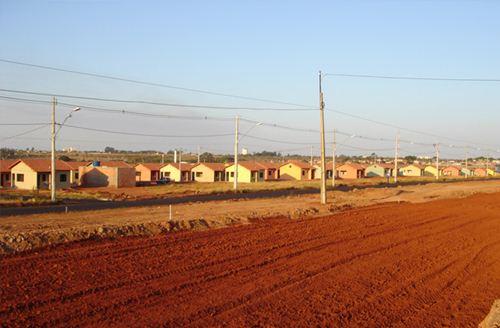 Casa do programa Minha Casa Minha Vida já entregues no bairro Morada duPark - Foto: Site da Prefeitura Municipal - Cohagra