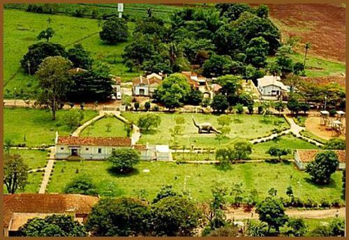 Vista aérea parcial de Peirópolis