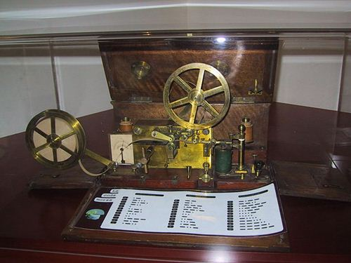 O telégrafo foi a principal ferramente que permitiu a interação de pesquisadores climáticos em todo o mundo - Previsão de tempo em Uberaba
