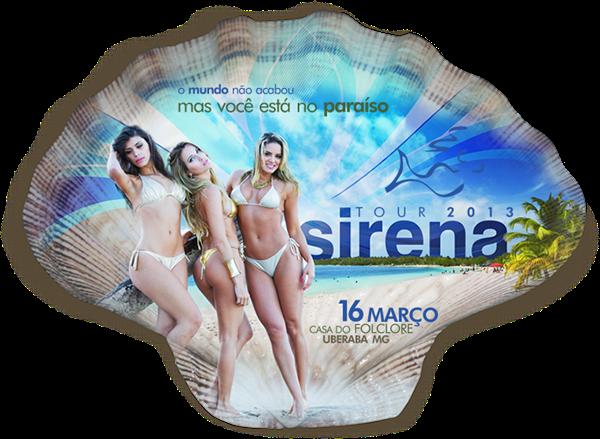 Folder de divulgação da Sirena Uberaba - Imagem retirada do site oficial